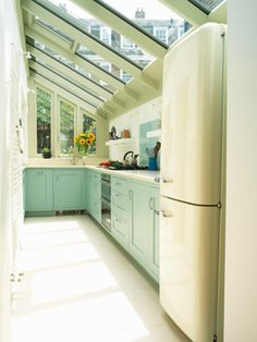 small clever kitchen extension