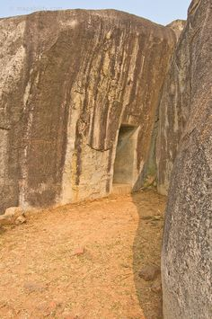 Vadathika cave, part of Nagarjuna caves, India. 245 BC.