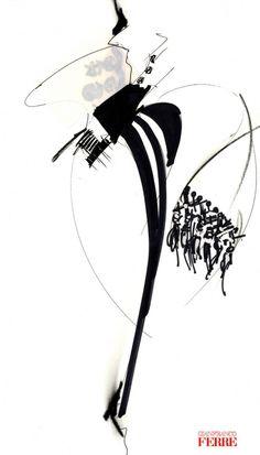 Fondazione Gianfranco Ferré / Collections / Woman / Prêt-à-Porter / 1991 / Spring / Summer
