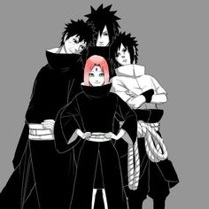 Naruto- Sakura Sasuke Obito and Madara Madara Uchiha, Naruto Uzumaki, Anime Naruto, Naruto Gaiden, Naruto Fan Art, Naruto Cute, Naruto Sasuke Sakura, Naruto Funny, Anime Manga