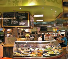 100% Vegan Deli Counter at the Austin Whole Foods Flagship Market