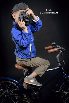 Fashion Icons Halloween Costumes: Bill Cunningham | Oh Happy Day!