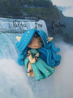 Idea: This style polymer clay creation for the three goddesses from Zelda!