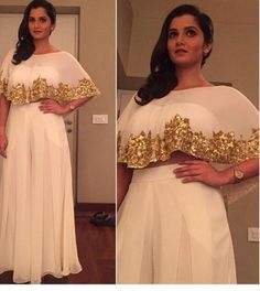 Image result for indo western dresses sania mirza