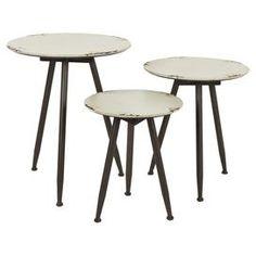 Tables Faro - 3 Pièces
