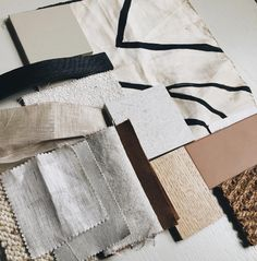 "cassie on Instagram: ""Seriously loving this palette from today's presentation meeting for another beautiful peninsula home. Put up some reference inspo on…"" Fabric Painting, Cassie, The Past, Presentation, Palette, Studio, Beautiful, Objects, Instagram"