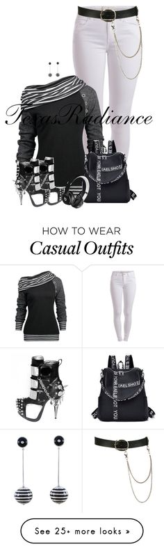 """Miguel- Wolf"" by texasradiance on Polyvore featuring Pieces, Beats by Dr. Dre and Wet Seal"
