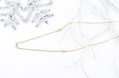 Enchanted 3 Diamonds necklace