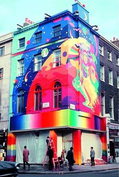 Yıl 1967. Londra'da Baker Street'te Beatles Apple Butik. ♥♥♥