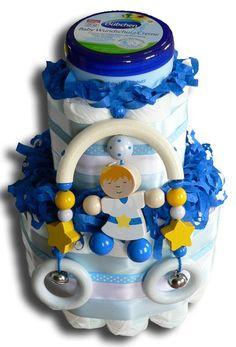 Prinz Windeltorte - Geschenk zur Geburt, Geschenk zur Taufe