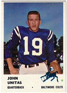 1961 Fleer #30 Johnny Unitas - GAI NrMt (7) by Fleer. $75.00. 1961 Fleer Inc. trading card in gai grade nrmt (7) condition, authenticated by Seller