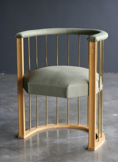 """""""Black Villa"""" chair designed in 1908 Eliel Saarinen 