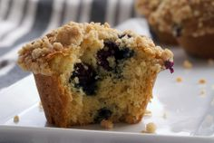 Blueberry Crumb Muffins (as you know I love anything with blueberries)