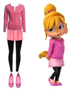 A fashion look from August 2015 featuring River Island mini skirts. Browse and shop related looks. Team Costumes, Best Friend Halloween Costumes, Couple Halloween, Friend Costumes, The Chipettes, Hello Kitty Jewelry, Alvin And The Chipmunks, Character Inspired Outfits, Disney Day