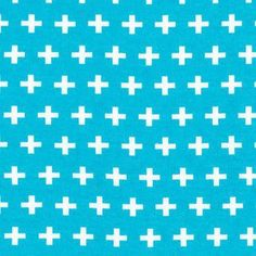 Ann Kelle - Remix Knit - Plus Signs Knit in Turquoise