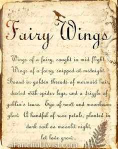 Book of Shadows: Fairy Wings {poor fairy! Fairy Dust, Fairy Land, Fairy Tales, Imprimibles Halloween, Elfen Fantasy, Love Fairy, Fairy Wings, Angel Wings, Believe In Magic