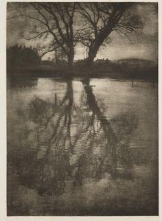 Reflections, 1899. By George Davison.