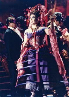 La Traviata. Gran Teatre del Liceu. Flora. María Uriz