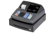 Packed with convenient functions #Sharp XE-A106 #cashregister is the perfect partner for small business. Simple-to-use and more efficient.