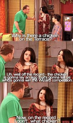 Never watched this show..and honestly not a huge Selena Gomez fan but this made me laugh