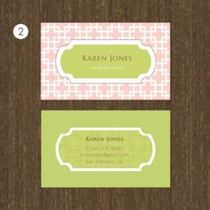 alamode: Cutest Business Cards EVER! Giveaway too!