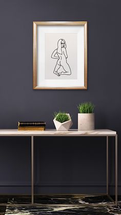 This nude art black line painting by artist Coris Evans in Byron Bay is available for purchase frames at her Esty store. Black And White Interior, White Interior Design, Canvas Paper, Acrylic Painting Canvas, Picasso Cubism, Different Forms Of Art, Positive Art, Body Positive, Esty