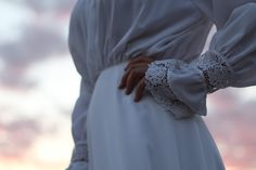 Promenade au Peyrou en robe d'inspiration 1900 (II)