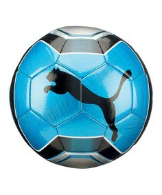 Take a look at this Silver Powercat Graphic Ball by PUMA on #zulily today! $11 !!