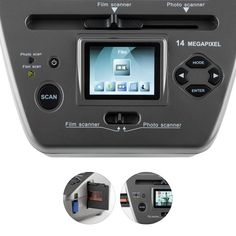 979GY Combo Slide Film Scaner foto 14 MP SD USB Photo Scan, Sd, Audio, Electronics, Film, Outdoor, Boxing, Movie, Films