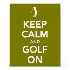 Keep calm and golf on... U.S. Open 2013