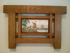 another craftsman style tile frame