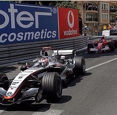 Kimi raikkonen Michael Schumaker 2005