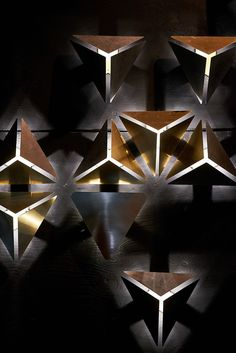 ADesignStudio :: Garden of Lights Light Art, Lamp Light, Cool Lighting, Lighting Design, Garden Of Lights, Luz Led, Wood Lamps, Lamp Design, Autocad