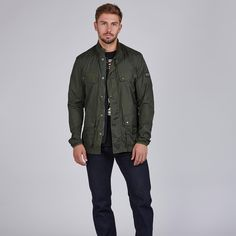 Ideal to take along wherever you go this summer this version of the iconic Duke jacket is made from a super lightweight nylon fabric that packs away into its own bag for easy carrying. The perfect jacket for this spring. . . #fashion #mensfashion #fashionblogger #mensstyle #cardiff #7clothing #menswear #ootd #cardiffblogger #barbourinternational Barbour International, Cardiff, Duke, Carry On, Spring Fashion, Military Jacket, Bomber Jacket, Menswear, Ootd