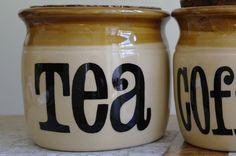 Vintage T G Green Granville Jar Tea Jar by alltheseprettythings, £5.00