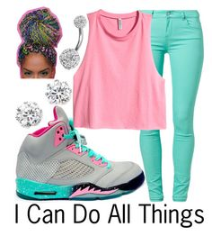 """All Things--"" by ja-la ❤ liked on Polyvore featuring mode, Kenneth Jay Lane, SuperTrash, H&M et Bling Jewelry"