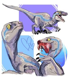 ehehe uvu baby blue (part two! Jurassic Park Raptor, Jurassic Park Trilogy, Jurassic World Raptors, Jurassic World 2015, Jurassic World Fallen Kingdom, Fnaf Baby, World Movies, Guild Wars 2, Falling Kingdoms