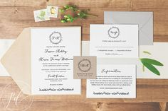 Wedding Invitation template printable, Editable Text and Artwork Colour, Instant Download, Edit in Word or Pages, Navy Blush Suite