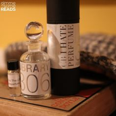 'In The Library' Perfume {Gift Ideas for Book Lovers} | gimmesomereads.com