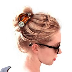 48 Best Fashionable Jaw Hair Clips And Scrunchies Images