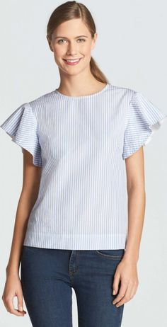 96d22027e0 Draper James Cloister Stripe-Top as seen on Reese Witherspoon Stripe Top