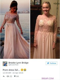 6802caf100  LOL  Funny Tweets About China vs. Prom Dress Prom Dress Fails