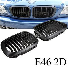 New kidney grill for bmw e46 3 #series 2d #coupe cabridet m #98-02 m3 sport,  View more on the LINK: http://www.zeppy.io/product/gb/2/321652873990/