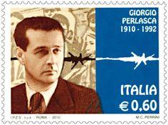 Francobollo commemorativo di Giorgio Perlasca, emesso nel centenario della nascita (2010).
