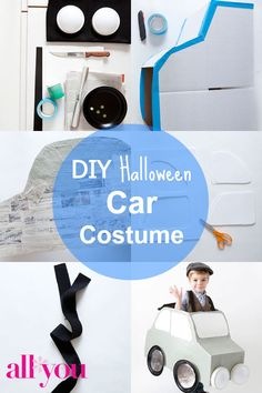 how to make a car costume
