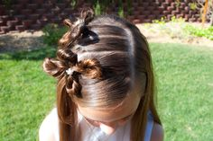 Princess Piggies: Hair Flowers