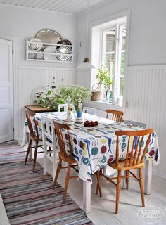 Light kitchen / L U N D A G Å R D | inredning, familjeliv, byggnadsvård, lantliv, vintage, färg & form: Smålandsboendet