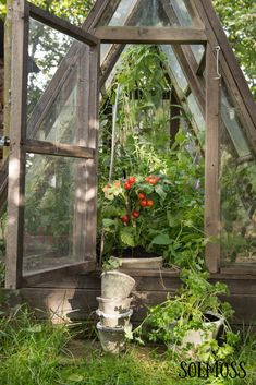 Backyard Greenhouse, Potting Sheds, Garden Beds, Pathways, Shrubs, Cottage, Outdoor Structures, Allotment, Greenhouses