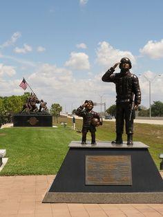 Veterans Memorial Park in Cape Coral, Florida America Pride, Pray For America, God Bless America, Cape Coral Florida, West Florida, Florida Living, Memorial Park, Veterans Memorial, Honor Veterans