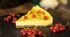 Aus der süßen Welt der veganen Rohkost: Mango-Zitronen-Torte